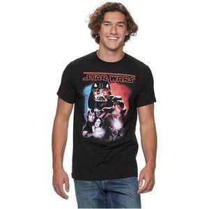 Men's Star Wars Vintage shirt Size: Large, Black